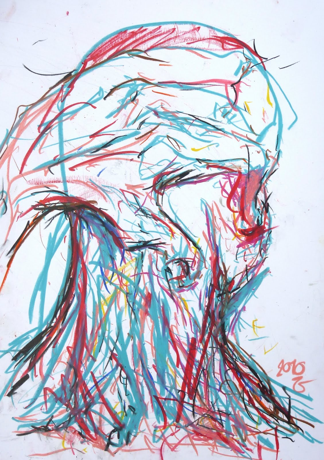 Untitled (Hand On Back Of Head)