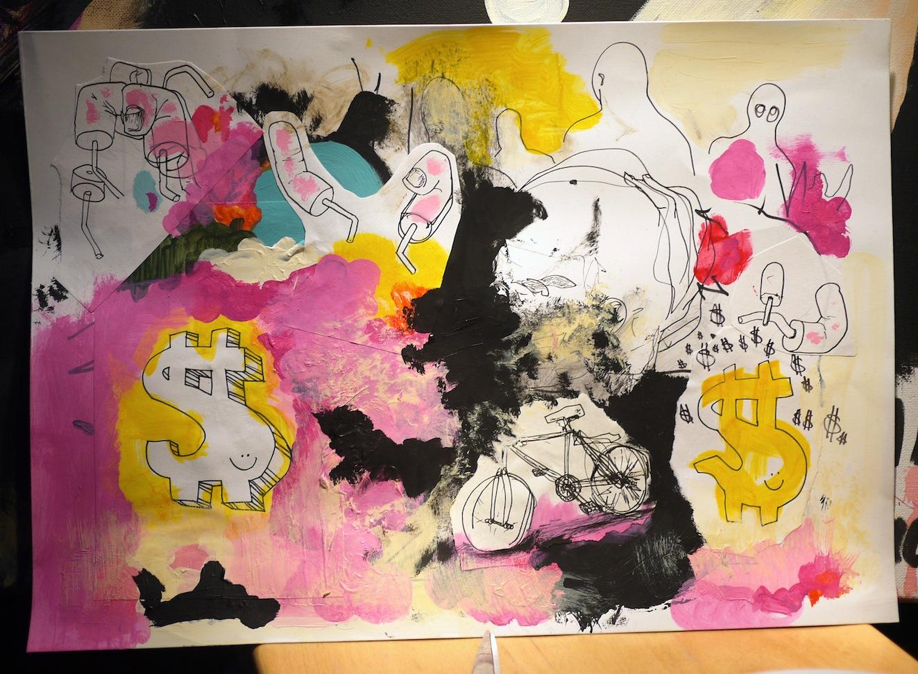 Untitled (Dollars)