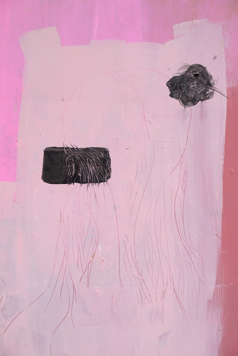 Untitled (Pink Girl) (Detail)