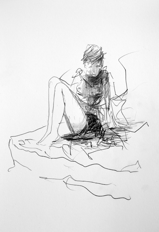 Untitled (Girl On Bed)