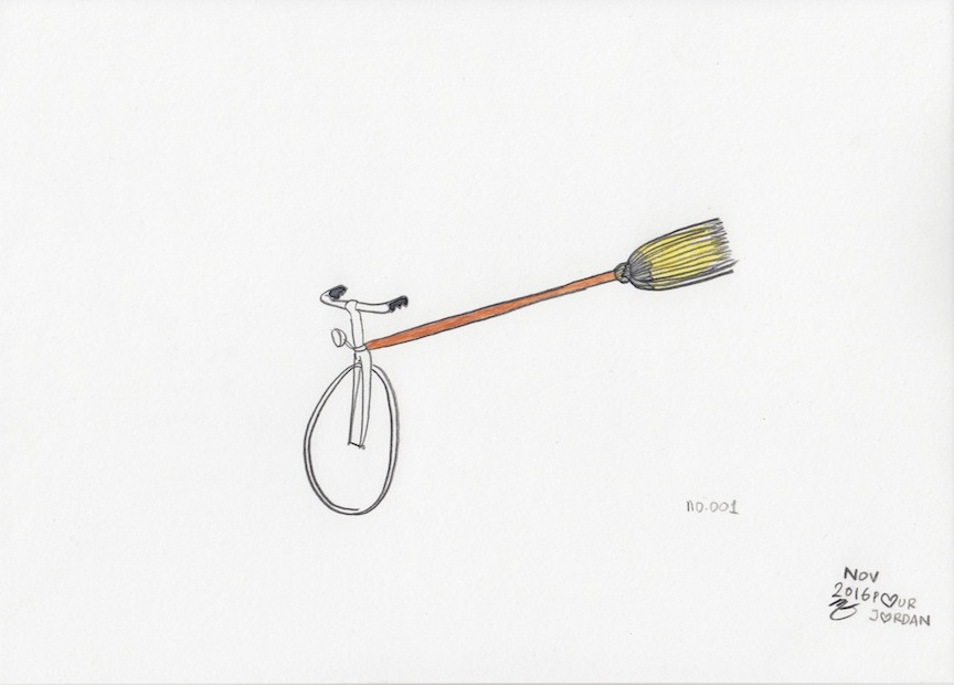 Bikes For Witches (no.001)