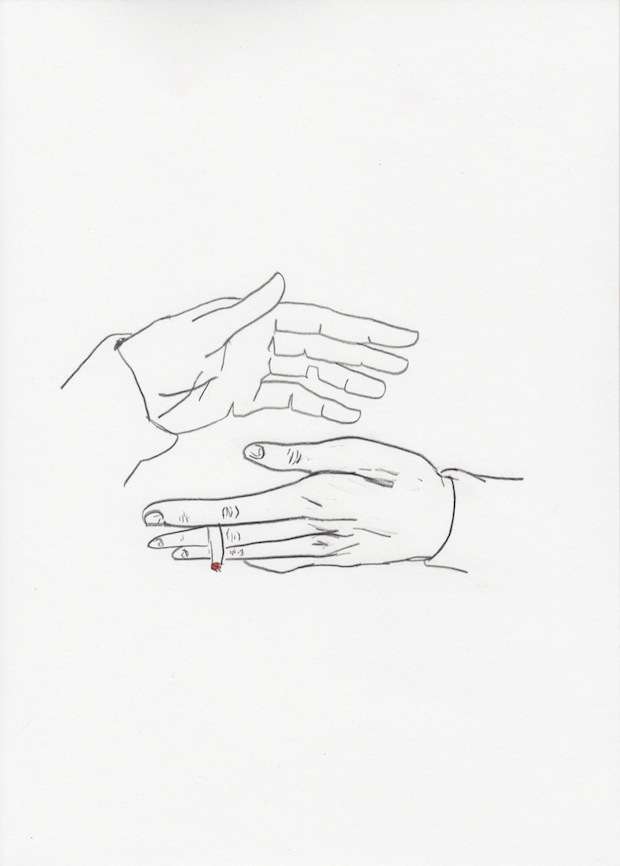 Untitled (Hands With Cigarette)
