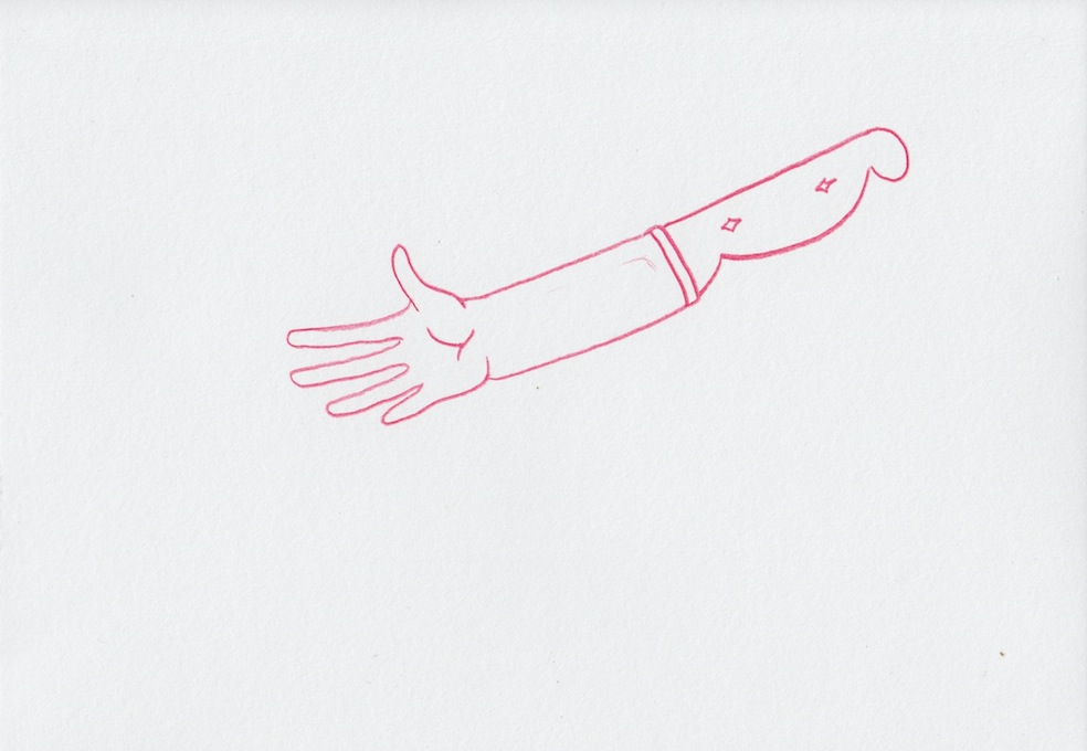 Untitled (Knife Hand no.001)