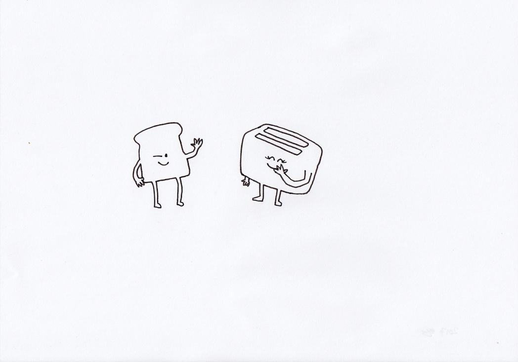 Untitled (Toaster Love)