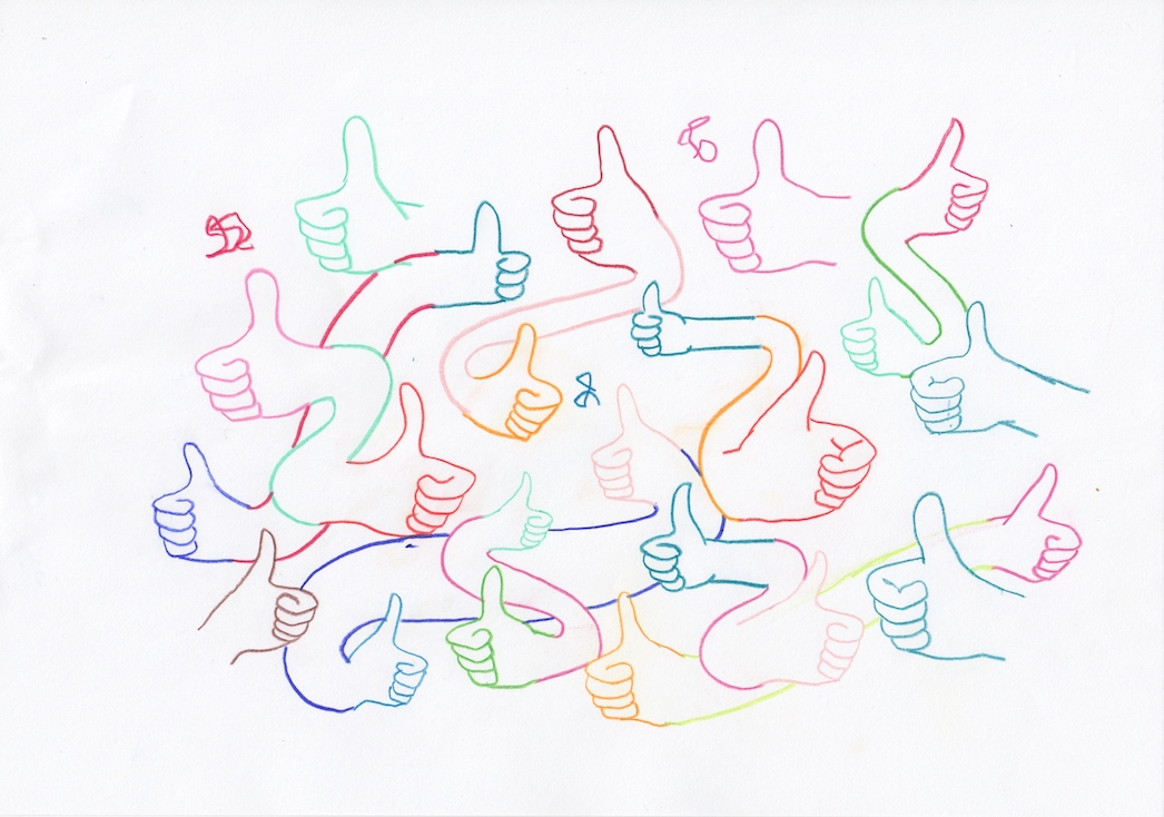 Untitled (Thumbs Up)
