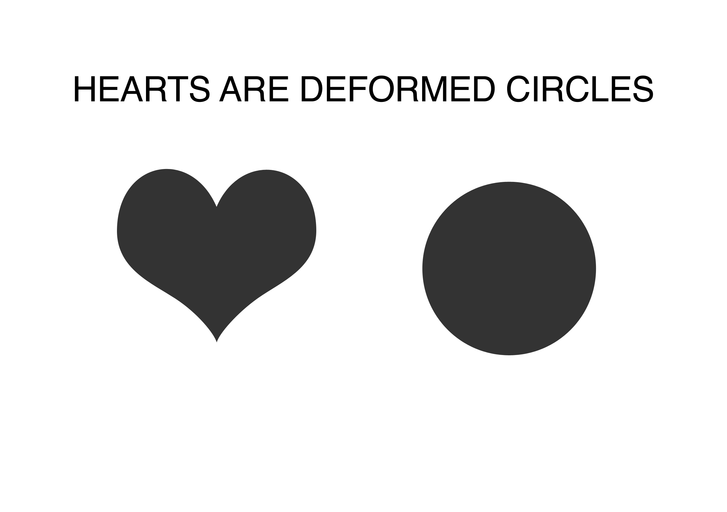 Don't Believe The Hype - Hearts Are Deformed Circles
