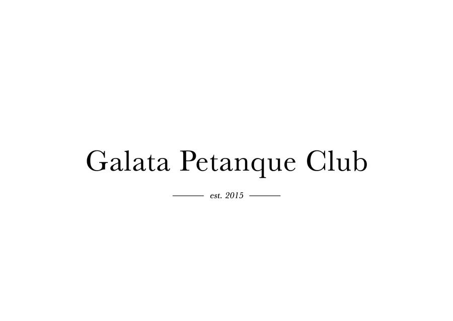 Galata Petanque Club Logo