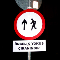 Street Sign Interventions Istanbul